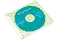 Диск DVD-RW Verbatim 4, 7ГБ 4х Slim case COLOR